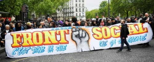 Front social,Brest,mobilisation,luttes,travail, emploi,loi travail;macron,En Marche, El khomri,Code du travail